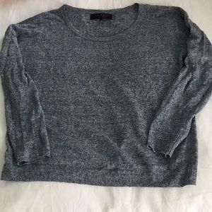 Rag & Bone blue sweater.